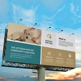 Animals & Pet Care Billboard Banner
