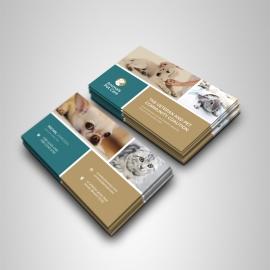 Animals & Pet Care Business Card