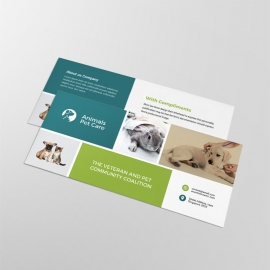 Animals & Pet Care Compliment Card