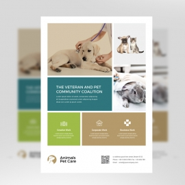 Animal & Pet Care Flyer