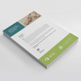 Animals & Pet Care Letterhead