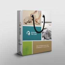 Animals & Pet Care Shopping Bag