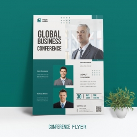 Annual Business Conference Flyer