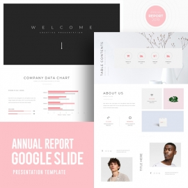 Annual Report Google Slide Template