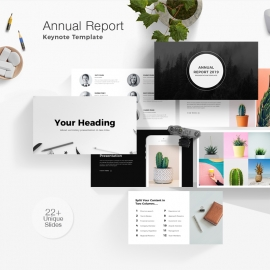 Annual Report Keynote Template