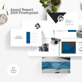 Annul Report 2019 Powerpoint