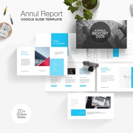 Annul Report Google Slide Template