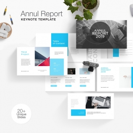 Annul Report Keynote Template