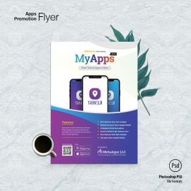 Apps Promotion Flyer