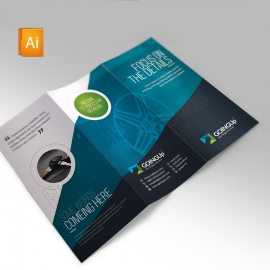 Auto Detailing Clean Trifold Brochure