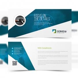 Auto Detailing Services  Compliment Card