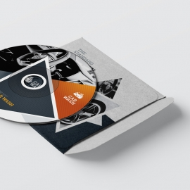 Auto & Transport CD Pack With Triangle Elemens