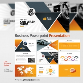 Auto / Vehicle Transport Powerpoint Presentation