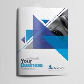 Axpro Brand Bifold Brochure