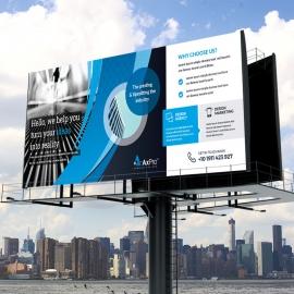 Axpro Brand Clean Billboard Banner