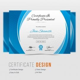 Axpro Brand Clean Creative Certificate