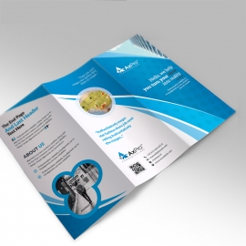 Axpro Brand Clean Trifold Brochure