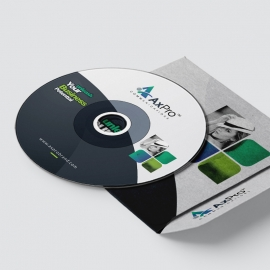 Axpro Brand Creative CD Sticker