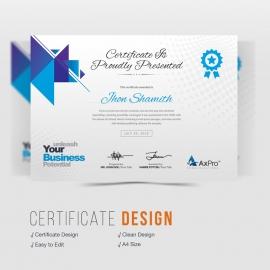 Axpro Brand Creative Certificate