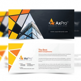 Axpro Brand Creative Compliment Card