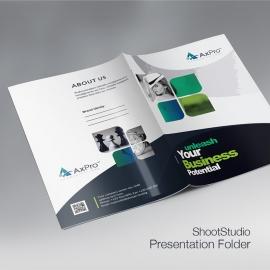 Axpro Brand Presentation Folder