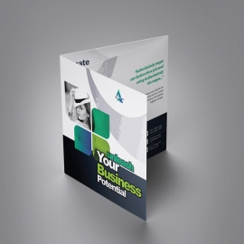Axpro Brand Squre Trifold Brochure