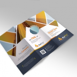 Axpro Brand Trifold Brochure