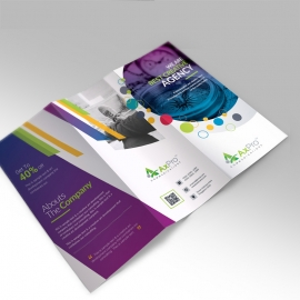 Axpro Brand Trifold Brochure