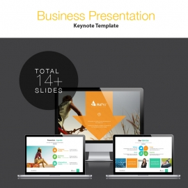 Axpro Creative Business Keynote Presentation Template