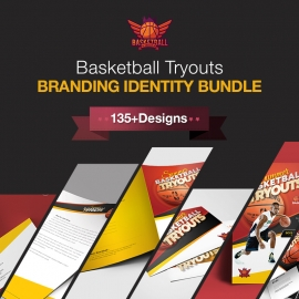 Basketball Branding Identity Pack