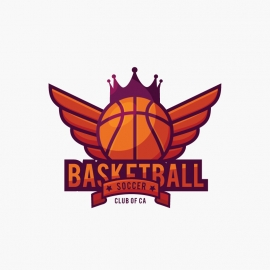 Basketball Sports & Games Logo