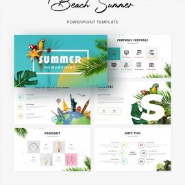 Beach Summer PowerPoint