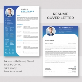 Beautiful Resume with Cover Letter