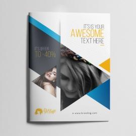 Beauty & Fashion Creative Bifold Brochure