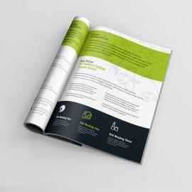 Beauty & Spa Bifold Brochure