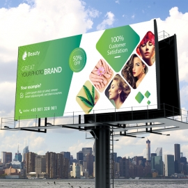 Beauty & Spa Billboard Banner