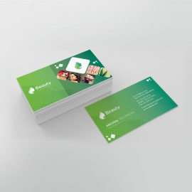 Beauty & Spa Businesscard Template