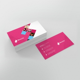 Beauty & Spa BusinessCard Template
