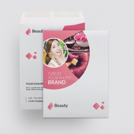 Beauty & Spa Catalog Envelope