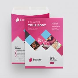 Beauty & Spa Catalog Envelope
