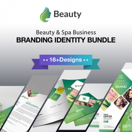 Beauty & Spa Corporate Identity Stationery