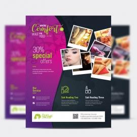 Beauty & Spa Creative Flyer