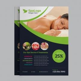 Beauty & Spa Flyer Design