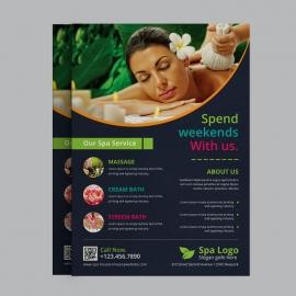 Beauty Spa Flyer Design