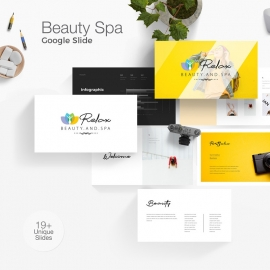 Beauty Spa Google Slide Template