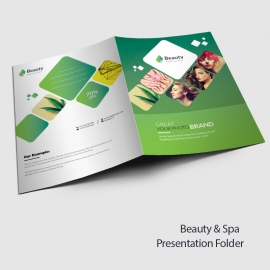 Beauty & Spa Presentation Folder