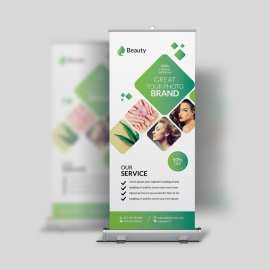 Beauty & Spa Roll-Up Banner