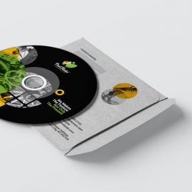 Black Accent Business CD Pack With Cricle