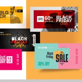 Black Friday Facebook Posting Cover Kit