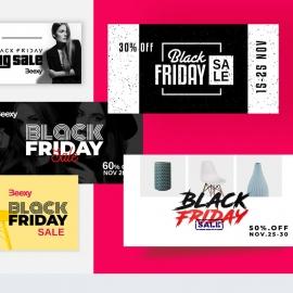 Black Friday Facebook Posting Cover Kit Layout